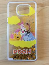 Disney Winnie The Pooh Sparkle Liquid Glitter Quicksand Case For Galaxy Note 5 - $12.99