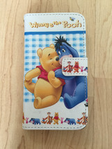 Disney Winnie The Pooh PU Leather Case For Samsung Galaxy S6 Ship From NY - $11.99