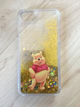 Disney Winnie The Pooh Liquid Glitter Quicksand Case For iPhone 7 - $13.99
