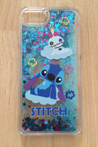 Disney Stitch Bling Sparkle Liquid Glitter Quicksand Case For iPhone 7  - $13.99