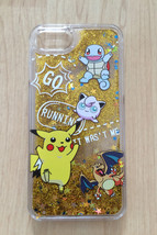Pokemon GO Bling Sparkle Liquid Glitter Quicksand Case For iPhone 7 - $13.99