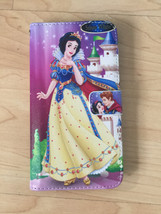 Disney Princess Snow White PU Leather Case Wallet For Samsung Galaxy S6 Edge + - $13.99