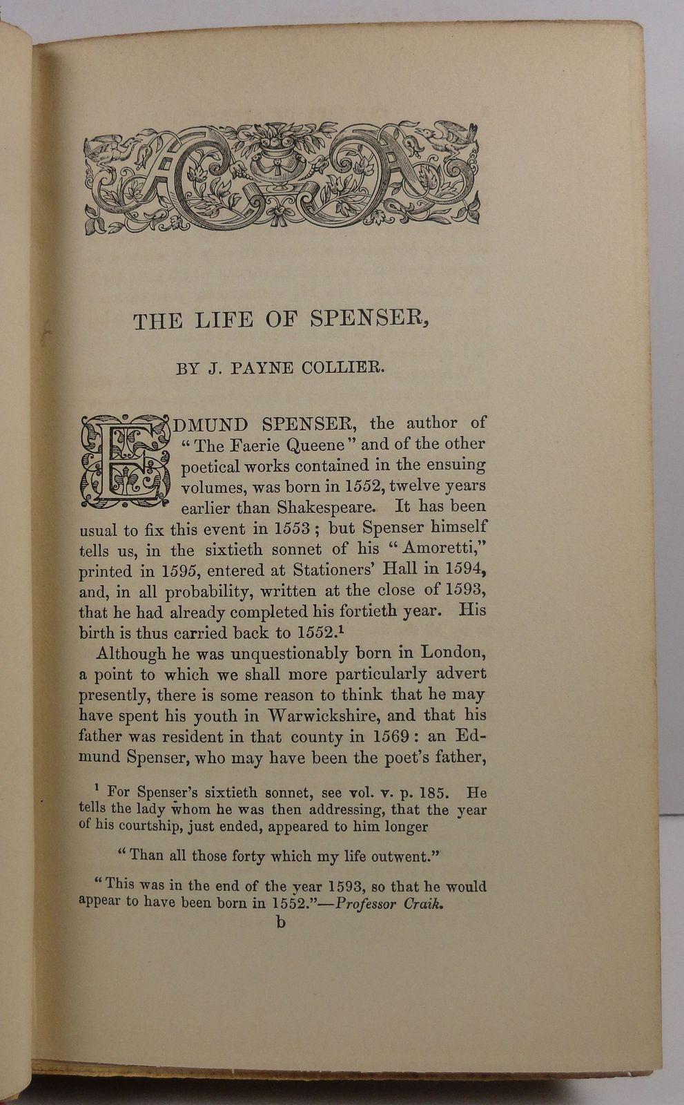 The Poetical Works of Edmund Spenser Vol. 1  1891