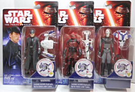 Star Wars Force Awakens Space Mission General Hux, Guavian, The Inquisitor set - $24.98