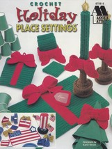 Holiday Place Settings, Annie's Attic Crochet Pattern Booklet 870916 RAR... - $14.95