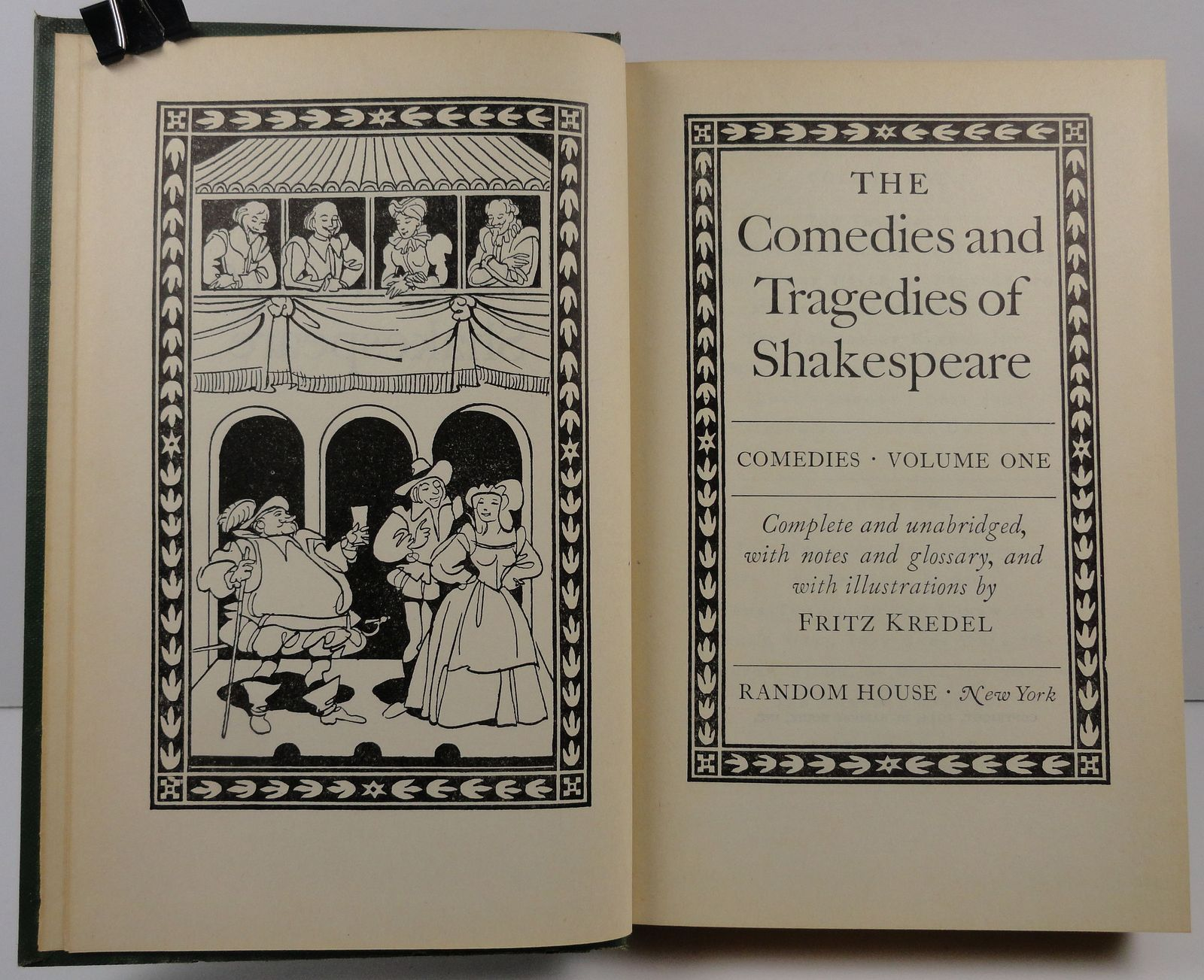 The Comedies and Tragedies of William Shakespeare Vol. 1 and 2 1944
