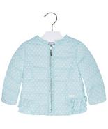 Mayoral Baby Girls Polka Dot Padded Windbreaker Jacket - $42.95