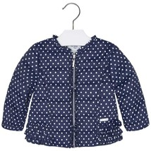 Mayoral Baby Girls Polka Dot Padded Windbreaker Jacket