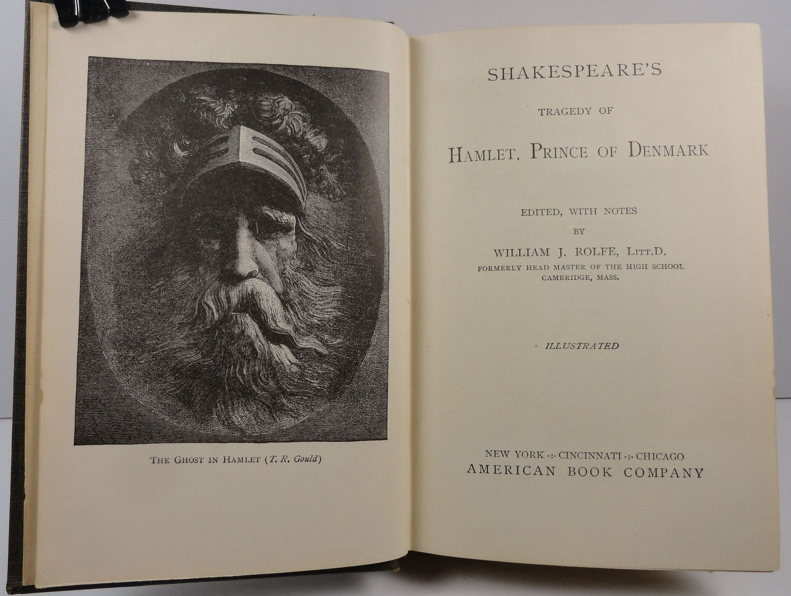 Shakespeare's Tragedy of Hamlet edited by William Rolfe 1906