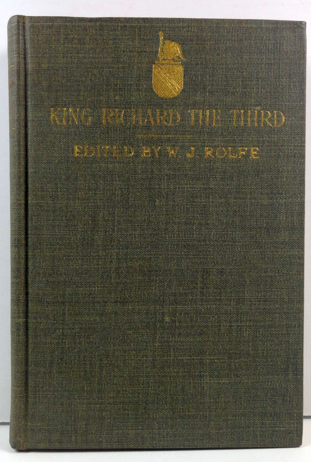 Primary image for Shakespeare's King Richard III edited by William Rolfe 1904