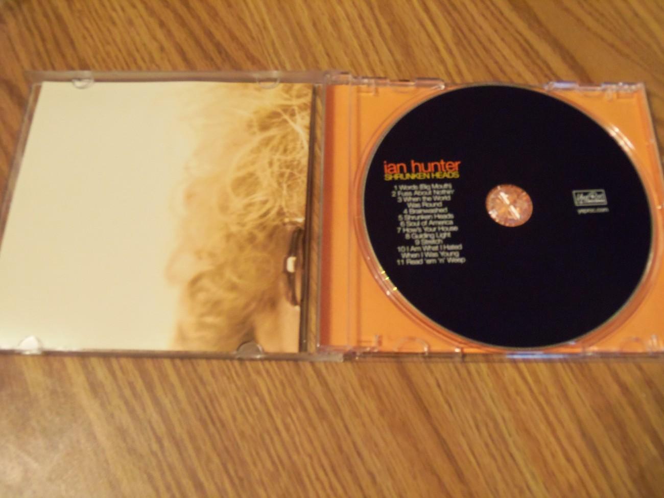 Ian Hunter Shrunken Heads Cd 2007 Mott The Hoople David Bowie