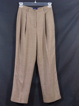 Charter Club Pleated Trouser Dress Pants Wool Blend Size 8 Work, Office,... - $10.95