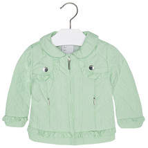Mayoral Baby Girls Diamond-Quilted Padded Windbreaker Jacket