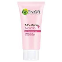 Garnier Skin Naturals Moisture + Nourish Daily Rich Moisturiser 50ml - $7.16
