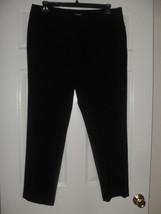 Nine West New Womens Black Stretch Pants   14 - $23.75