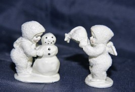 Department 56 Snowbabies Miniatures Hand Painted Pewter Unknown Title - $15.23