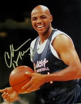 CHARLES BARKLEY Autographed HAND SIGNED 8x10 photo w/COA TEAM USA BASKET... - £61.30 GBP