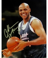 CHARLES BARKLEY Autographed HAND SIGNED 8x10 photo w/COA TEAM USA BASKET... - $74.99