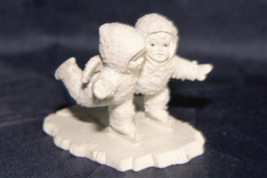"Department 56 Snowbabies Miniatures Hanpainted Pewter ""We Make A Great P... - $26.21"