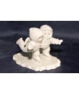 "Department 56 Snowbabies Miniatures Hanpainted Pewter ""We Make A Great P... - $26.21"