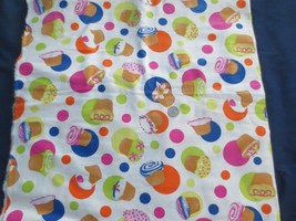 Joann Fabrics Flannel CUPCAKES with ICING  2 1/2 yards - $15.00