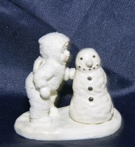 "Dept 56 Snowbabies Miniatures Hand Painted Pewter ""Why Won't You Talk to... - $13.03"