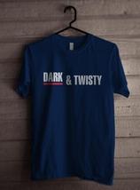 Dark & twisty Greys anatomy Men Tee S-3XL NAVY - $18.00