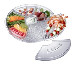 Prodyne AB-5-L Appetizers-On-Ice with Lids - $34.95