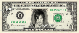 NORMAN REEDUS Daryl Dixon REAL Dollar Bill Walking Dead Cash Money Colle... - $5.55