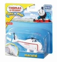 Thomas & Friends Take n Play Harold Diecast Metal Engine - R8858 - New - $14.08