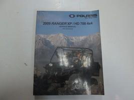 2009 Polaris RANGER XP HD 700 4X4 Service Repair Shop Workshop Manual NEW - $158.25