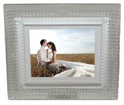"Waterford Lismore Diamond Digital 8"" Photo Frame Luxury New In Box # 400... - $242.55"