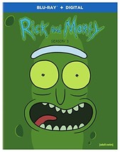 Rick and Morty: Season 3 [Blu-ray] (2018)