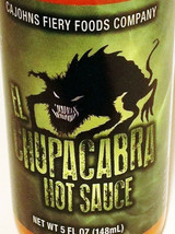 CaJohn's El Chupacabra Hot Sauce 5 oz - $30.70