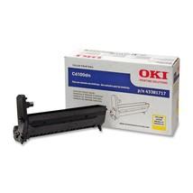 Genuine Oki 43381717 Yellow Image Drum Kit For C6100 Printers 20000 Page - $93.49