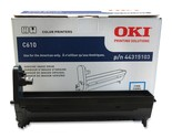 Genuine Oki 44315103Cyan LED Imaging Drum Unit 20000 Page for C610 Series