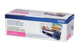 Genuine Brother TN310M Magenta Toner Cartridge 1500 Page Yield for MFC94... - $65.44