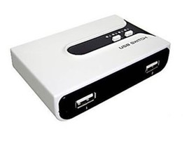 Action Star PW-222B 2-to-2 Cross Over USB 2.0 Sharing Switch - $26.17