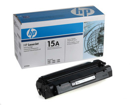 Genuine OEM HP 15A C7115A Black Original LaserJet Toner Cartridge 2500 Page - $84.14