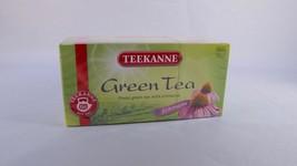 Teekanne Green Tea Echinacea Tea - 20 tea bags- Made in Germany - $5.69