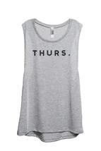 Thread Tank Thurs. Thursday Women's Sleeveless Muscle Tank Top Tee Sport Grey - $24.99+