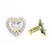 14K Gold Plated Heart Earrings Huggies On Sale This Week ! - $17.63
