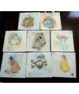 8  Mother Goose Nursery Wall Art  Print w Hanging Ribbon  New           - $24.00