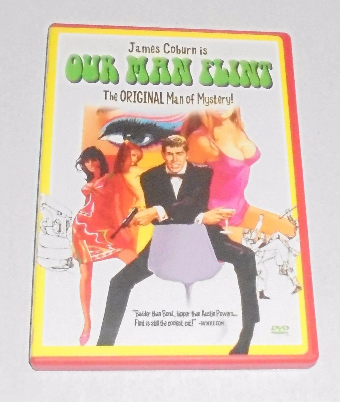 Our Man Flint (DVD, 2002) James Coburn 1960s Classic Movie