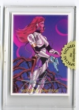 "Steve ""Woron's Universe"" #1 undistributed card Signed in screwdown holder - $14.80"