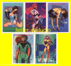 Steve Woron's Universe* Promo 5 Card Undistributed Set! - $10.95