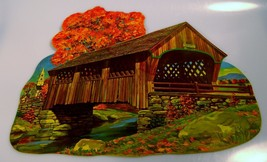 Vintage Dennison Thanksgiving Fall Die Cut Cove... - $14.99