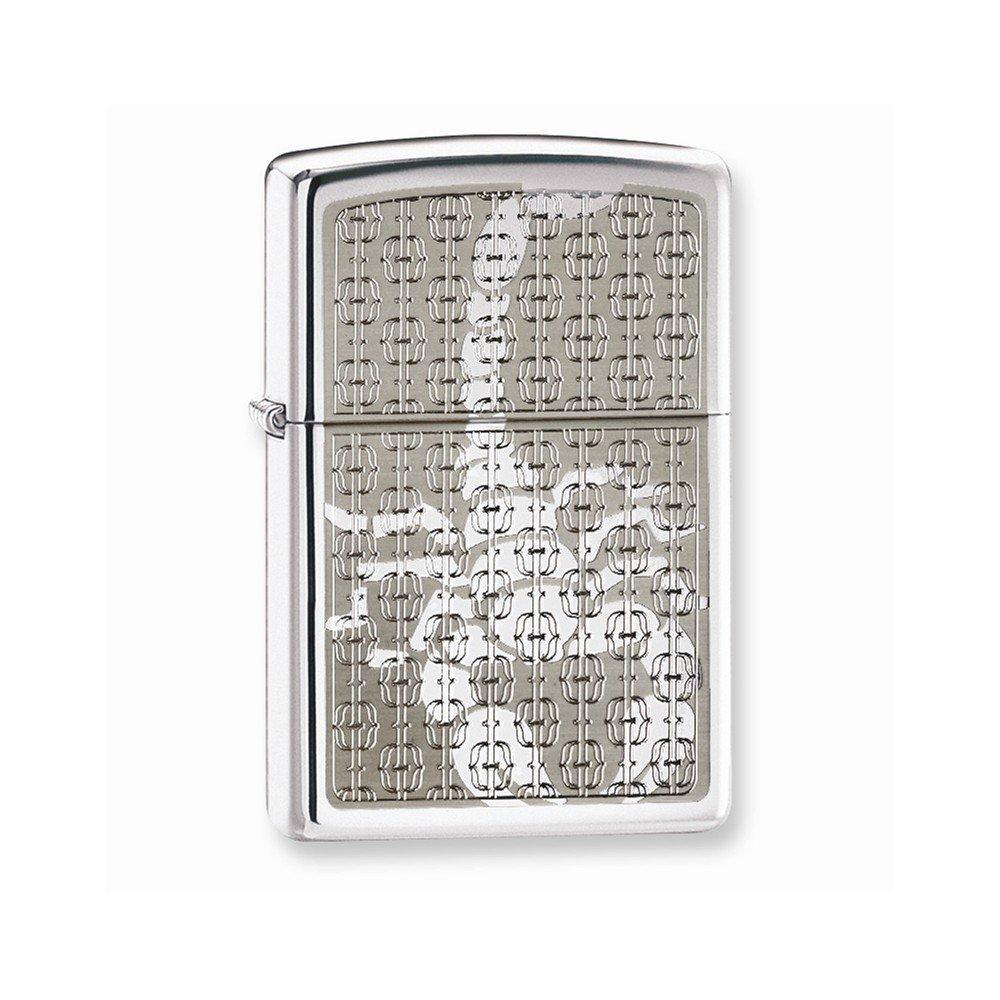 Zippo Scorpion High Polish Chrome Lighter - $40.29