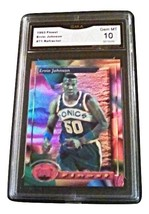 1993-94 Topps Ervin Johnson Gma Graded 10 GEM MINT Basketball Finest 71 - $9.99