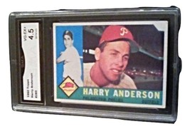 1960 Topps Harry Anderson GMA Graded 4.5 VG-EX+ Baseball Card Number 285 - $9.99